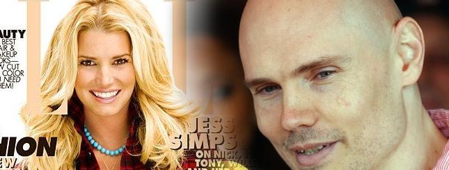 Jessica Simpson i Billy Corgan - czy będą parą?