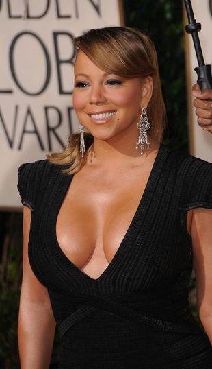 Mariah Carey spadła z nieba