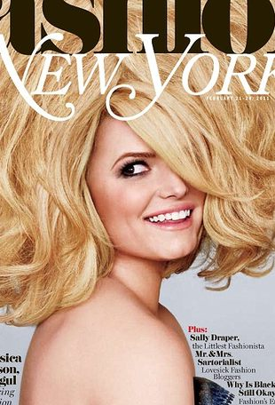 Jessica Simpson w New York Magazine (FOTO)
