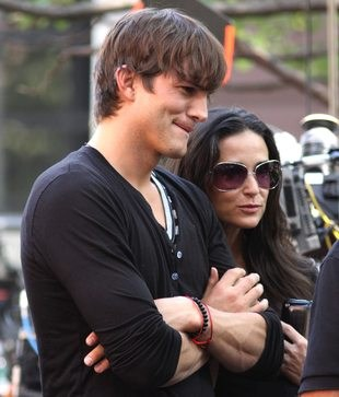 Ashton Kutcher i Demi Moore razem na detoxie