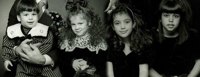 Poznajcie te słodkie dziewczynki? (FOTO)