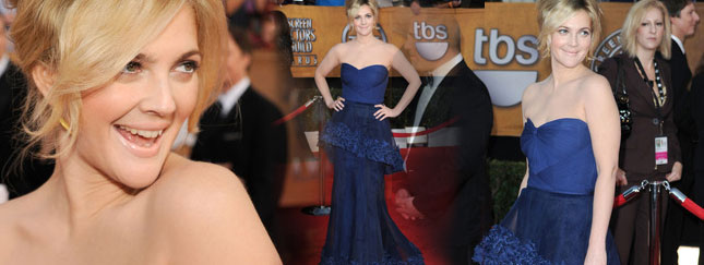 Drew Barrymore znowu olśniewa (FOTO)
