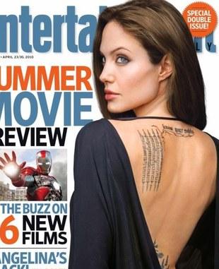 Jolie pokazała... plecy (FOTO)