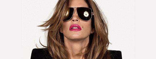 Cindy Crawford we francuskim Vogue