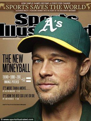 Ogorzały Brad Pitt jako sportowiec (FOTO)