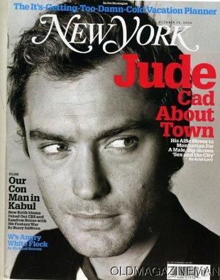 Testy DNA potwierdziły: Jude Law jest ojcem małej Sophie