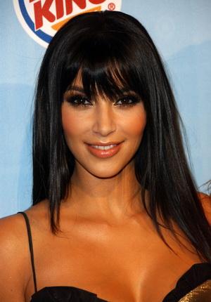 Czarno-złota Kim Kardashian (FOTO)
