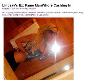 Były chłopak Lindsay Lohan sprzedaje ją