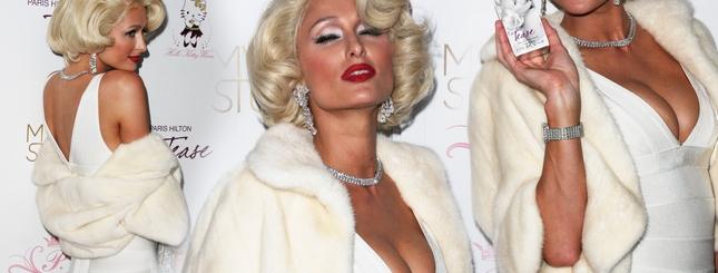 Paris Hilton przebrana za Marilyn Monroe (FOTO)