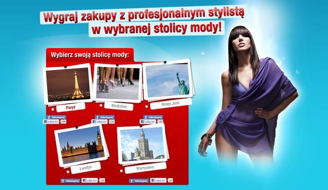 Do wygrania zakupy ze stylistą w stolicy mody!