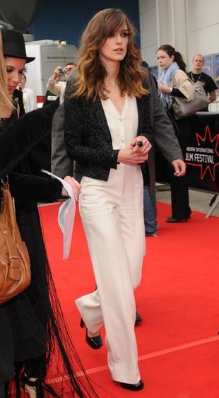 Keira Knightley chce mieć małe piersi