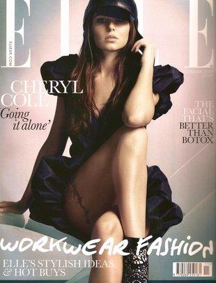 Cheryl Cole w nowym Elle