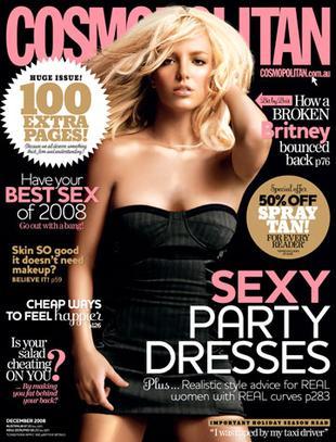 Britney Spears na okładce Cosmopolitan