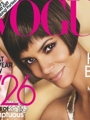 Halle Berry na okładce wrześniowego Vogue (FOTO)