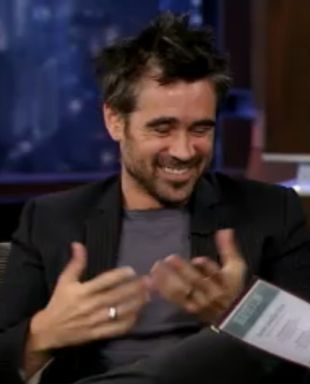 Colin Farrell opowiada o synku Henrym (VIDEO)