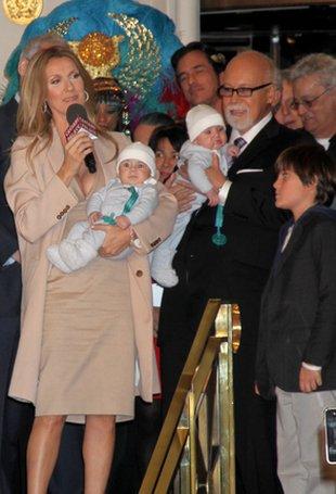 Celine Dion pokazała swoje bliźnięta (FOTO)