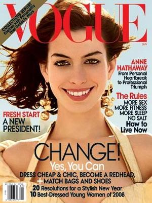 Anne Hathaway dla Vogue (FOTO)