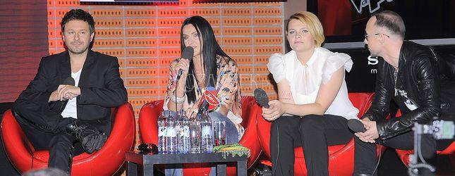 Pierwszy odcinek na żywo The Voice of Poland