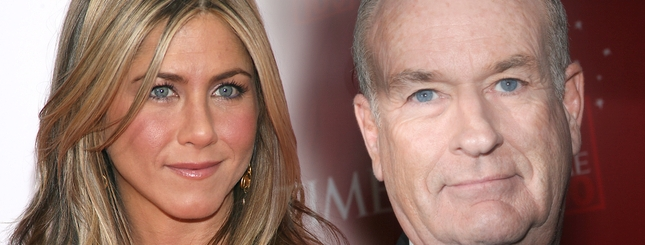 Jennifer Aniston odpiera zarzuty Billa O'Reilly