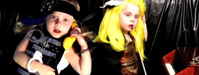 Dziecięca parodia Telephone Lady Gagi [VIDEO]