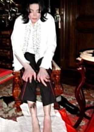 Szokujące zdjęcia Michaela Jacksona (FOTO)