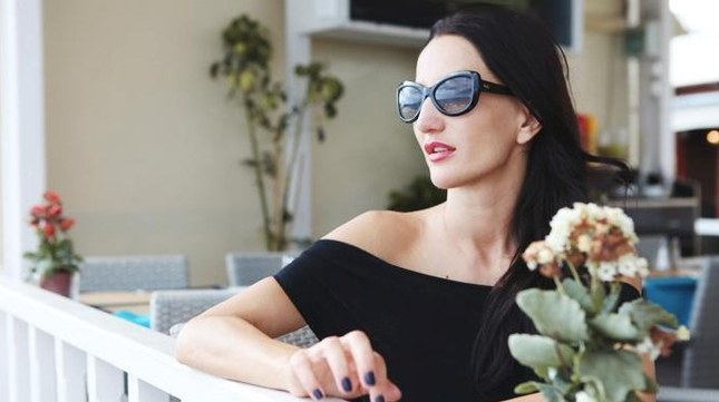 Grecka sesja Justyny Steczkowskiej (FOTO)