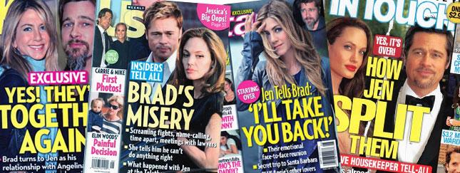 Rozstanie Brada i Angeliny: Media szaleją!