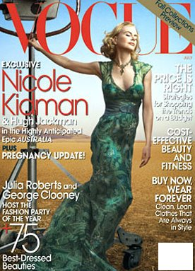 Nicole Kidman dla Vogue