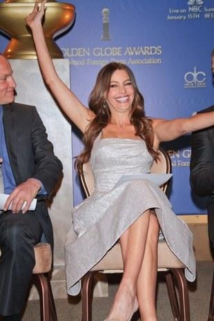 Vergara, Butler i nominacje do Złotych Globów 2012 (FOTO)