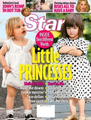 Suri Cruise pobiła Shiloh Jolie-Pitt