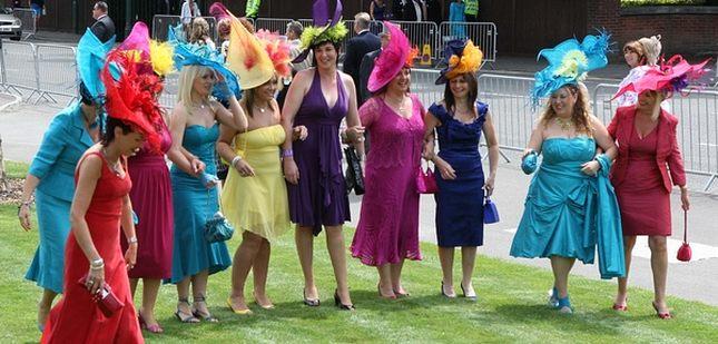 Wyścigi w Ascot - parada kapeluszy