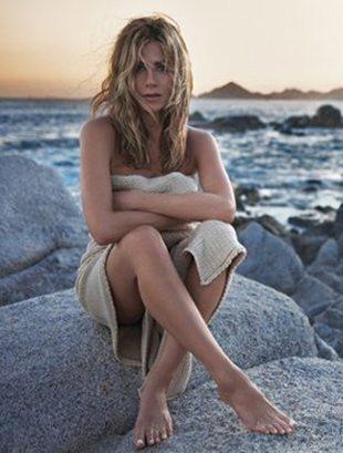 Jennifer Aniston lubi się spocić