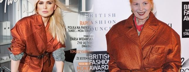 Monika Olejnik jak wielka Vivienne Westwood (FOTO)
