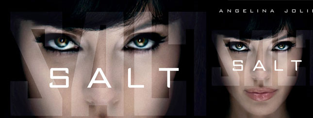 Angelina Jolie w Salt (FOTO + VIDEO)