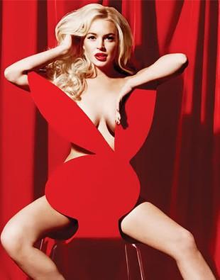 Numer Playboya z Lindsay sprzedaje się świetnie