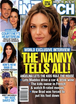 Dzieci Angeliny i Brada robią, co chcą!