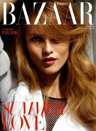 Vanessa Paradis w Harper's Bazaar (FOTO)