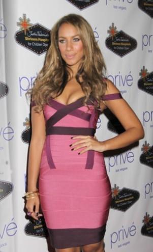 Leona Lewis zakuta w kajdanki!
