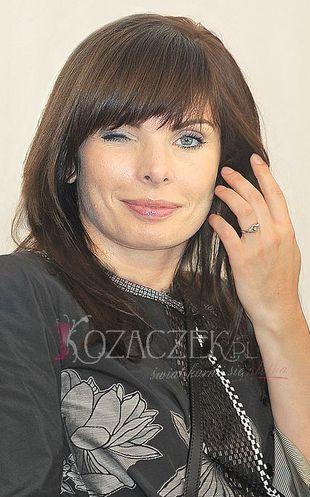 Agnieszka Dygant boi się mediów