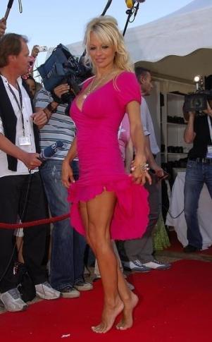 Pamela Anderson kocha krótkie gaciorki