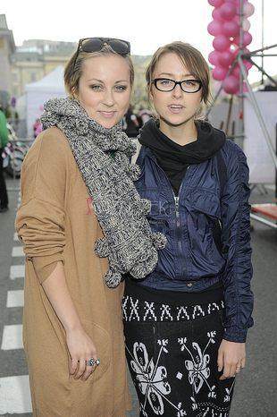 Paulina i Natalia Przybysz w jesiennych klimatach (FOTO)