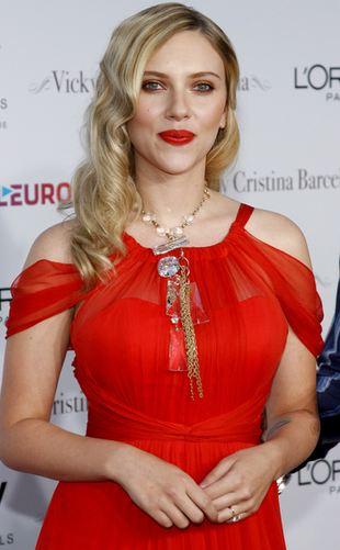 Scarlett Johansson jak zawsze seksowna