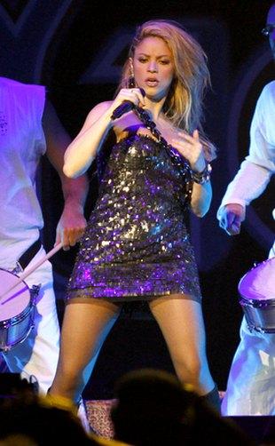 Shakira w swoim żywiole (FOTO)
