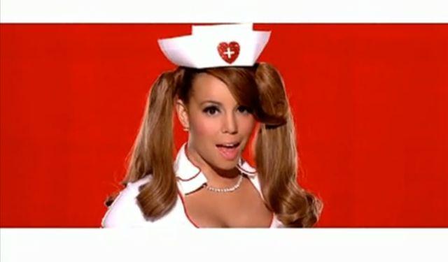 Mariah Carey jako seksowna pielęgniarka (VIDEO)