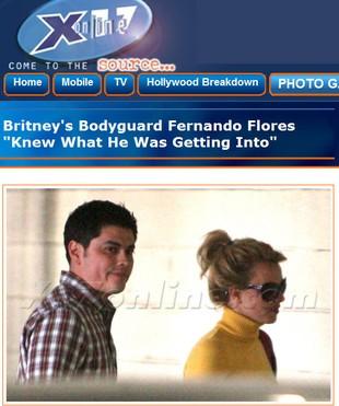 Britney Spears molestowała seksualnie ochroniarza?