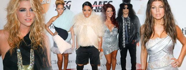 Impreza Pre-Grammy pełna gwiazd (FOTO)