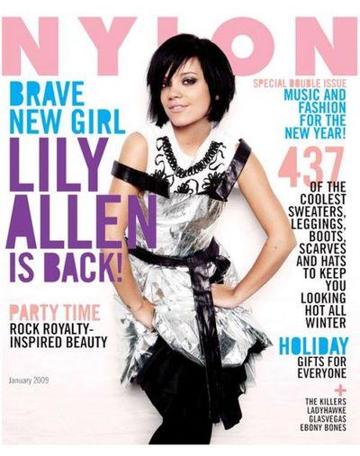Lily Allen w magazynie Nylon (FOTO)