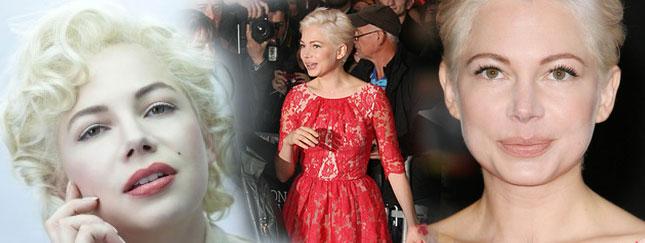 Zagra Marilyn, już jest platynową blondynką (FOTO)