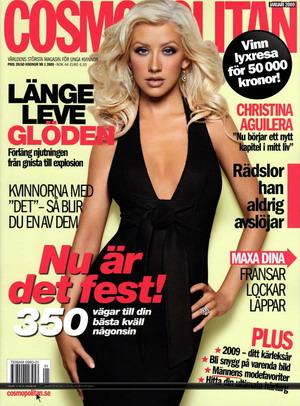 Christina Aguilera dla szwedzkiego Cosmopolitan