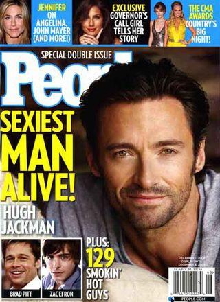 Hugh Jackman najseksowniejszym mężczyzną